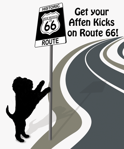 Get your Affen Kicks on Route 66